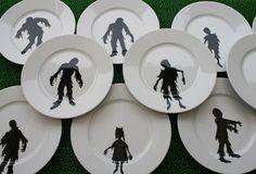 zombie plates