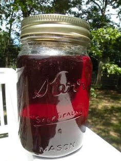 Canning 101:  Simple Grape Jelly (my grandma used to make this, MUST DO!)