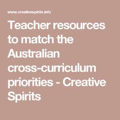 Teacher resources to match the Australian cross-curriculum priorities - Creative Spirits