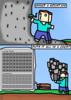 Curse You, Minecraft Logic | Video Game Logic | Know Your Meme