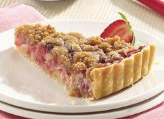 The Real Pie Club: Strawberry-Rhubarb Tart