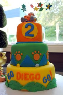 lulu blue: Go Diego Go! Cake