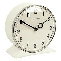 Buy Thomas Kent Farlow Wall And Mantel Clock, White Online at johnlewis.com