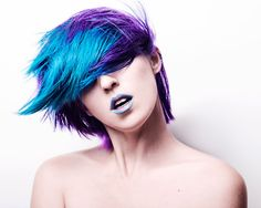 Check out these best hair color ideas to find an awesome new look. These beautiful blue hair streaks ideas are a perfect accent for dark or light hair.