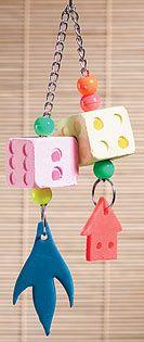 Mineral Block Dice Bird Toy