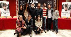 El ACTOR PABLO RIVERO en la rueda de prensa de DE TU VENTANA A LA MÍA de Paula Ortíz en Zaragoza (7 de marzo 2012)