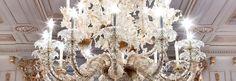 Murano chandelier | Classic Venetian style Murano glass Rezzonico