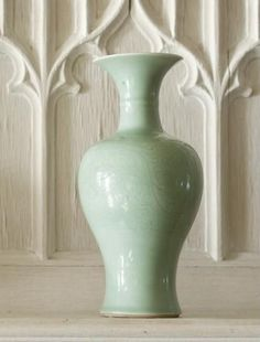 Belle And June Home Decor Add Some Flowers To This Crackle Celadon Fish Tale Vase Via Belle