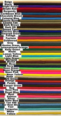 Supply Captain: 25 FT SOLID COLOR 550 PARACORD-- Excellent supplier of paracord to use on my woven paracord dog collars and leashes