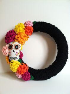 Halloween Wreath - Fabricate Studios
