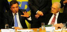 Para Aécio'Estou pronto para a pancadaria', afirma Aécio Neves Pré-candidato à sucessão no Planalto e presidente do PSDB, Aécio adota discurso de que o partido é opção ao modelo do PT