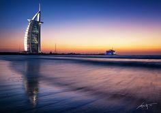 --Al Arab Sunset-- by Marek Kijevský on 500px