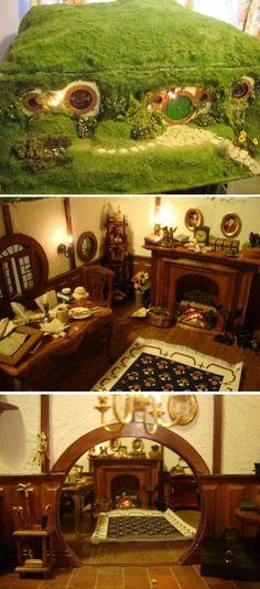 Bag End hobbit hole Doll House