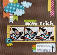 #papercrafting #scrapbook #layout Bella Blvd