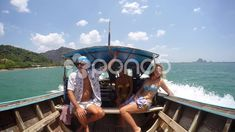 Tourist People Sailing on Boat in Sea on Vacation. Motivational Songs, Company Brochure, Video Footage, Stock Video, Stock Footage, Sailing, Boat, Vacation, People