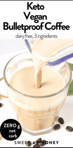 Vegan Bulletproof Coffee with Cacao Butter   MCT oil #bulletproofcoffee #veganketo #ketovegan #veganrecipes #ketorecipes #coffee #MCTOIL #cacaobutter #easy #3ingredients #lowcarb #breakfast