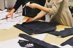 Working hard creating the best sustainable and animal free outerwear for our Wully Family!
