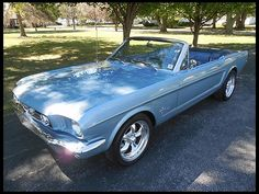 J174 1965 Ford Mustang Convertible 302 CI, Automatic Photo 1