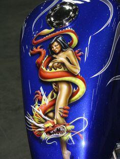 Gas Tank Art