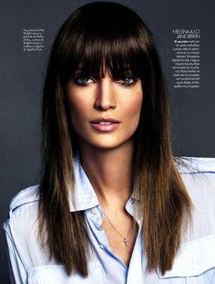 Jelena Kovacic by Xavi Gordo for Elle Spain February 2013