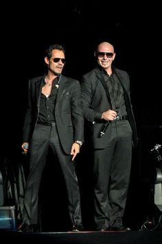 Pitbull,and Marc Anthony