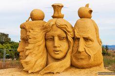 Бургас, фестиваль песчаных скульптур #Бургас #Болгария   #Burgas #Bulgaria
