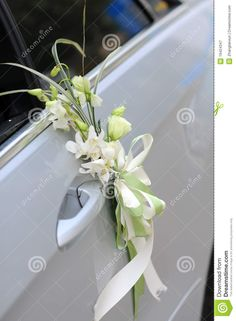 Wedding Car Flowers - Download From Over 43 Million High Quality Stock Photos, Images, Vectors. Sign up for FREE today. Image: 19424347