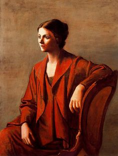 Pablo Picasso - Olga, 1923, oil on canvas