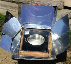 Harness the power of the sun by making your own backyard solar cooker