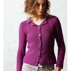 Check out Jo Sharp Shaped Garter Jacket PDF at WEBS   Yarn.com.
