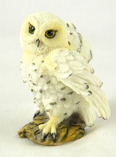 Hedwig Snowy White Owl Statues 2.5
