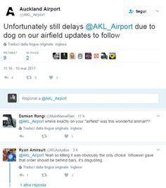 Attualià: #Blocca #troppi #voli. Così la polizia ha ucciso Grizz il cane guardia dellaeroporto di Auckland (link: http://ift.tt/2mDyl8n )