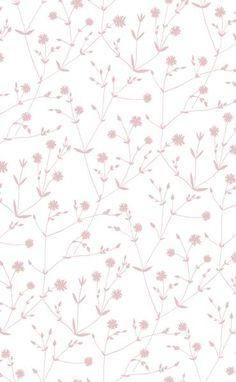 Marimekko Marimekko Illalla Wallpaper Cream/Dusty Rose - KIITOSlife - 1 Plus