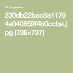 230db22bac8a11784a040859f4b0ccba.jpg (736×737)