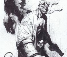 Hellboy by Jerome Opena * - Art Vault