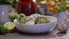 Groene verveine tabouleh uit 'Thee en Kaas' #KMVB #kokenmetvanboven #tea #cheese #thee #kaas #hoofdgerecht