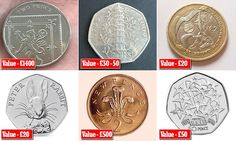 Valuable coins revealed: Why that 2p could be worth £1,400