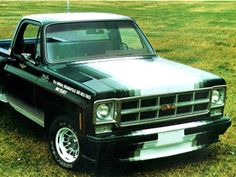"Check out some of the special edition trucks from years past. Pictured here is the GMC Indy 500 which was called ""one of the most outrageous pickups of the era."""