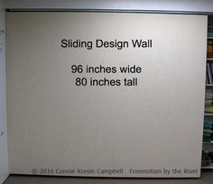 Quilt design wall - THIS ONE IS FRAMED!! | For my wanna-be sewing ...