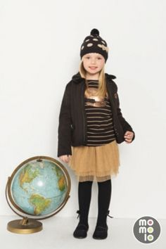 www.momolo.com   #kids #dress #modainfantil #fashionkids #childrensfashion #childrens #niños #kids #streetstyle #red #ropaniños #kidsfashion    Look de B�boli | MOMOLO Street Style Kids :: La primera red social de Moda Infantil