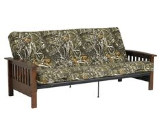 Shop Dorel Home Furnishings Canada 2190859 Realtree Wood Arm Futon and Mattress at Lowe's Canada. Find our selection of futons at the lowest price guaranteed with price match. Full Size Futon Mattress, Full Size Comforter Sets, King Size Comforters, Futon Bed, Duvet Sets, Comfortable Futon, Comfy Bed, Tree Bed, Leather Futon