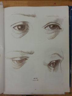 detail tváre - oči