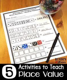 5 Fun Hands-On Activities for Teaching Place Value that your students will LOVE!