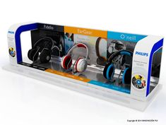 Expositor Philips auriculares | INNOVACION PLV