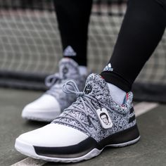 Inspired by a true trailblazer, the new adidas Harden Vol. 1 pays tribute to the legendary Arthur Ashe.  Out now.