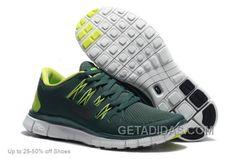 http://www.getadidas.com/nike-running-shoes-women-free-run-50-dark-green-online.html NIKE RUNNING SHOES WOMEN FREE RUN 5.0 DARK GREEN ONLINE Only $75.00 , Free Shipping!