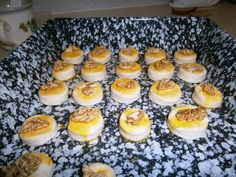 Tvarohové pagáče (fotorecept) - obrázok 4 Pudding, Desserts, Food, Basket, Tailgate Desserts, Deserts, Custard Pudding, Essen, Puddings