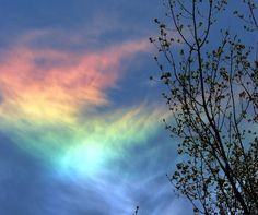 8 Amazing Natural Phenomena | IFLScience | Properly known as circumhorizontal arcs, fire rainbows form when the sun is higher than 58° in the sky. When the sunlight passes through plate-like ice crystals suspended in wispy cirrus clouds, it looks like the cloud has been turned into a rainbow.