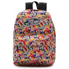 e8a2ceae0de7 Disney x Vans Princess Backpack available for $42.00 Disney Outfitek,  Iskola, Pénz, Bőröndök