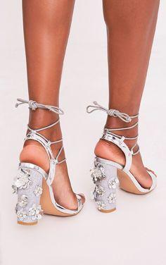Silver High Platform Sandal Pretty Little Thing How Much Footlocker Finishline Online 0ccO5yg0F
